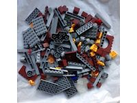 Two bags of bricks (some compatible with Lego)