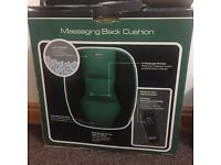 Messaging back cushion