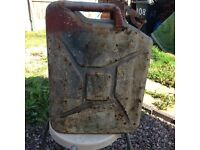 Vintage oil can dated 1953 - 8 imperial gallons
