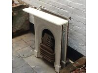 Two Antique fireplaces
