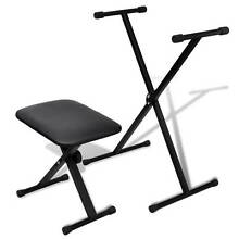 Adjustable Keyboard Stand and Stool Set (SKU 70032) vidaXL Mount Kuring-gai Hornsby Area Preview