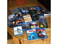 Various Blu Ray discs