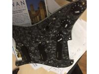 Brand NEW Lace Power Sensor Fully Loaded Pickguard with Seven Sound Positions