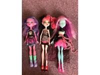 Great condition monster high dolls