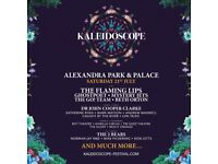 2 x Kaleidoscope Festival Alexandra Palace Tickets, Saturday 21st July
