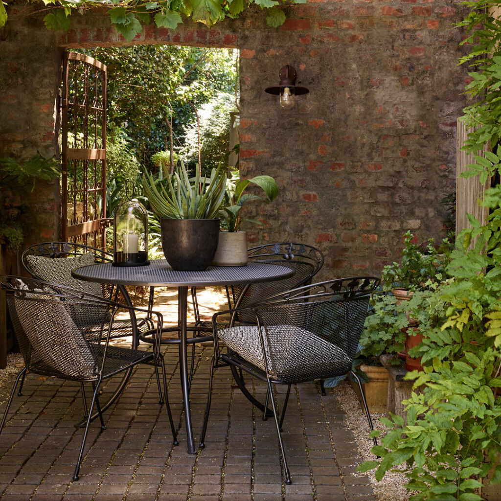 John Lewis Henly by KETTLER Patio / Garden Furniture , 1 Table & 4 ...