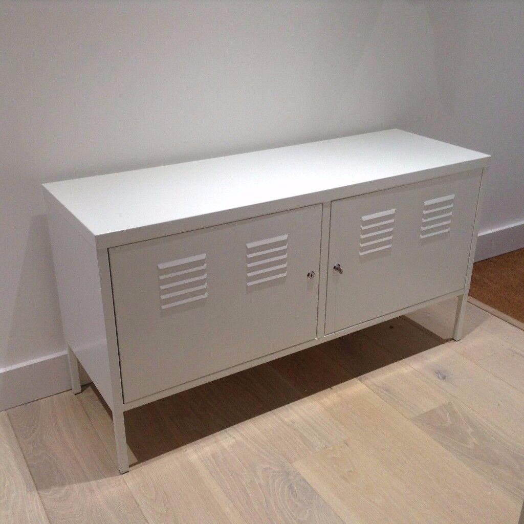 Attrayant Ikea White Metal Cabinet (IKEA PS)