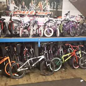Second hand bicycles