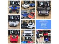 Largest Selection Of 12v Kids-Ride-On Cars, New With Warranty, Parental Remote & Self Drive