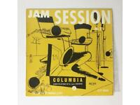 Vintage rare jazz albums with stylish cover sleeves
