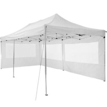 tectake partytent opvouwb. 3x6 m - 2 zijdelen wit - 403158