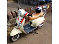 Retro style Learner Legal Baotian Monza 125cc Scooter