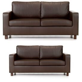 3+2 Seater Brand New Leather Sofas Free Delivery
