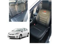 CAR LEATHER SEATCOVERS FOR TOYOTA PRIUS FORD GALAXY VOLKSWAGEN SHARAN VAUXHALL ZAFIRA TOURER BMW