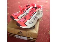 ESTES ADIDAS TRAINERS SIZE 12 (BRAND NEW AND BOXED)