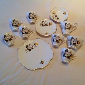 Bone China Vintage Tea Set