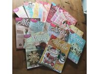 Mollie Makes Craft Magazine Back Issues (17 in total), some with craft kits & freebies