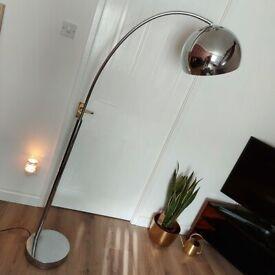Crome floor lamp