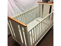 mothercare cot bed wishing on a star white