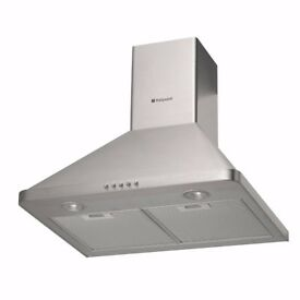 USED - Hotpoint HHP6.5CMSS Chimney Hood - Stainless Steel