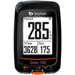 Bryton Rider 100 E GPS Fahrradcomputer 2016 Tacho schwarz