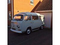 1972 Early Bay Crossover VW Campervan. Dormabile Conversion