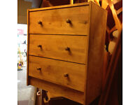 small chest of drawer pine