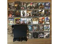 PS3 + 2 controllers + games bundle