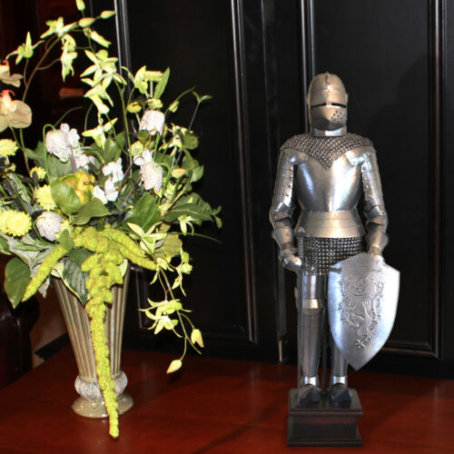"18"" Medieval Knight Statue - Suit of Armor - Knight Figurine"