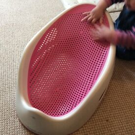 Pink Angelcare Baby Bath Seat
