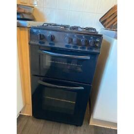Black Gas Cooker bush 10 months old