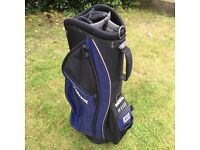 WILSON blue and black golf bag - excellent condition