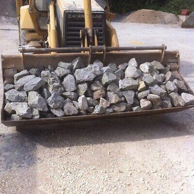 Gabion Stone Grey Mendip Limestone basket Walling Stone / Rock Retaining Wall