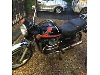 Two Honda cx500s swap for British
