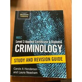 WJEC Level 3 Applied Certificate and Diploma Criminology Study and Revision Guide
