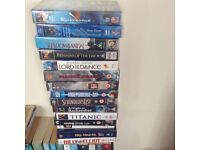 Several video tapes of musicals and well known films