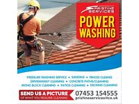 Jet washing and waste removal
