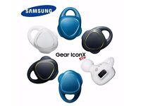 NEW! - SAMSUNG Gear IconX Bluetooth Earphones Fitness Music Tracker Wireless Earbuds - £130 ONO!