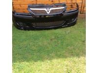 VAUXHALL CORSA c irmscher front bumper great condition rare!