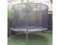 8ft trampoline for sale.