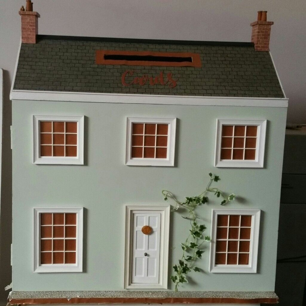 Wedding Card House Dolls House Post Box In Dalkeith Midlothian