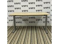 Adjustable Beam Desk in Maple