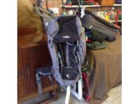 Vango mens contour 60 + 10 rucksack