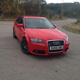 Audi A3 2.0TDI S-line QUATTRO
