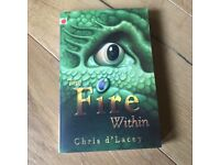 """""""The Fire Within"""" By Chris d'Lacey (Paperback Book)"""