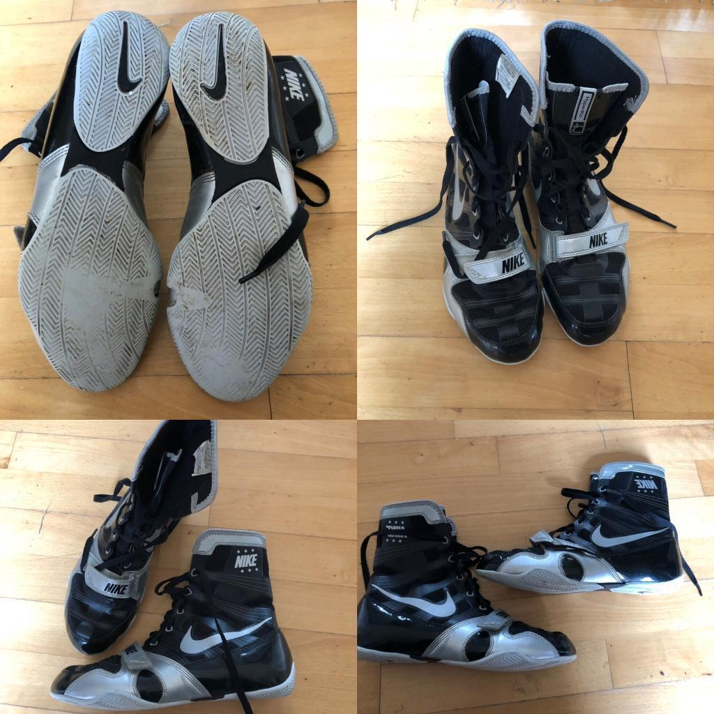 "timeless design 69513 2000d NIKE ""K.O"" BOXING BOOTS SIZE 9"