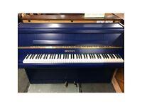 Bentley Resprayed Blue Upright Piano