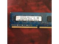 4GB DDR3 1600Mhz