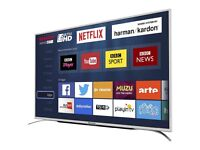 Brand new Sharp 55 inch Ultra HD 4K LED Smart TV with miracast and Freesat HD