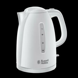 Russell Hobbs Textures Kettle - White